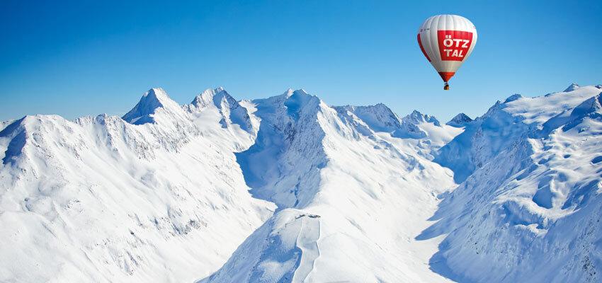Hohe Mut Ballonfahrt im Oetztal