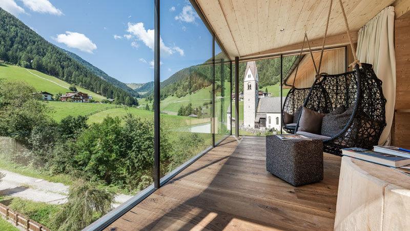 Panoramablick-Suite-Naturhotel RAINER