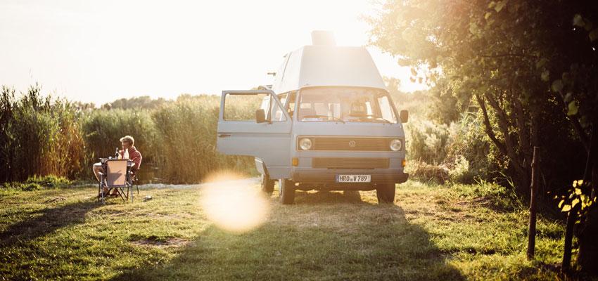 P'aul Camper - Outdoor im Camper