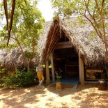 Dune Resort Indien - Eingang zum Spa
