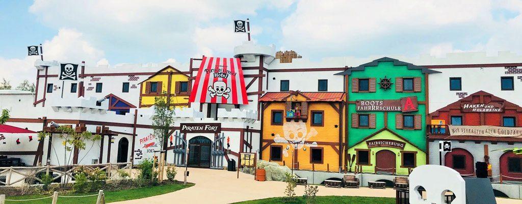 LEGOLAND-Deutschland-Pirateninsel-Hotel-Ansicht © Foto: Andrea Fischer, Trips4Kids.de