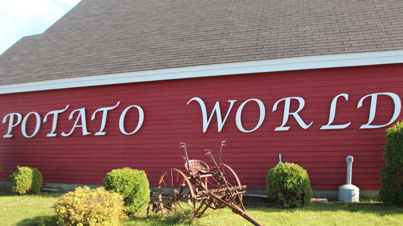 Potato world New Brunswick