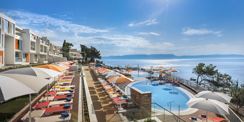 Valamar Girandella Resort Children splash zone pool