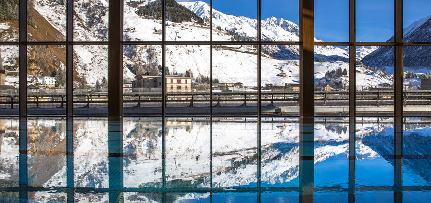 Radisson blu Hotel Reussen Panoramapool