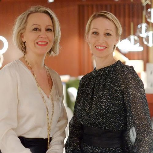 Regine Geibel und Maren Böttcher von AN ARCHITECTURAL LIFE