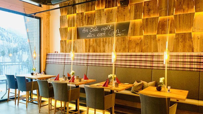 Restaurant-Herzenslust-Innenraum-Obertauern @ Foto: Trips4Kids.de, Andrea Fischer