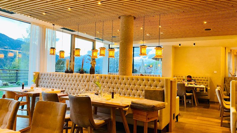Restaurant, Familienhotel Sonnwies Foto: © Andrea Fischer, Trips4Kids.de