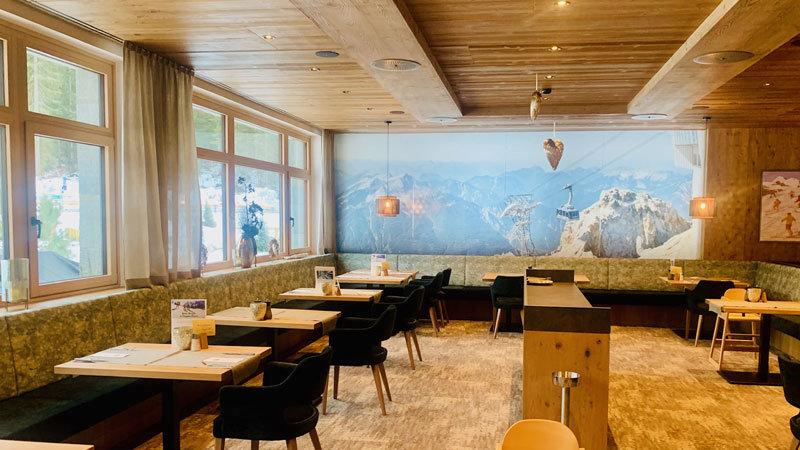 Restaurant Zugspitz-Resort @ Foto: Trips4Kids.de, Andrea Fischer