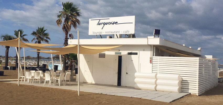 Bagno Strandbad Turquoise in Rimini