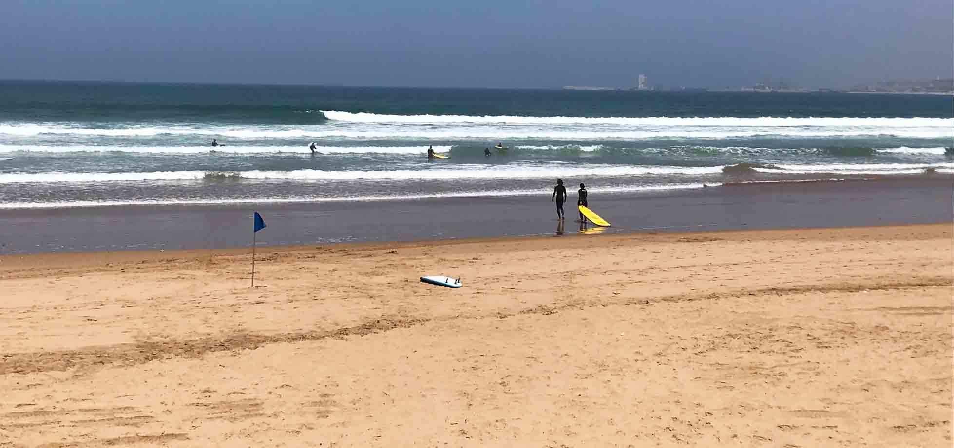 Beach am Robinson Club Agadir