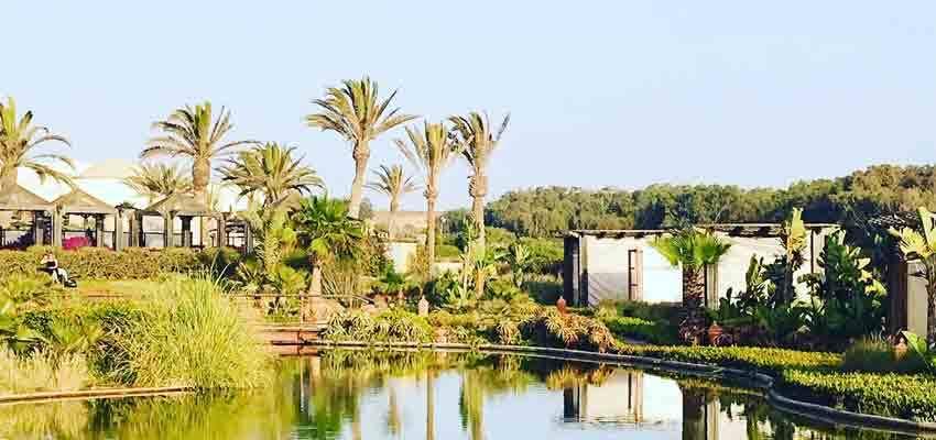 Lagoon im Robinson Club Agadir