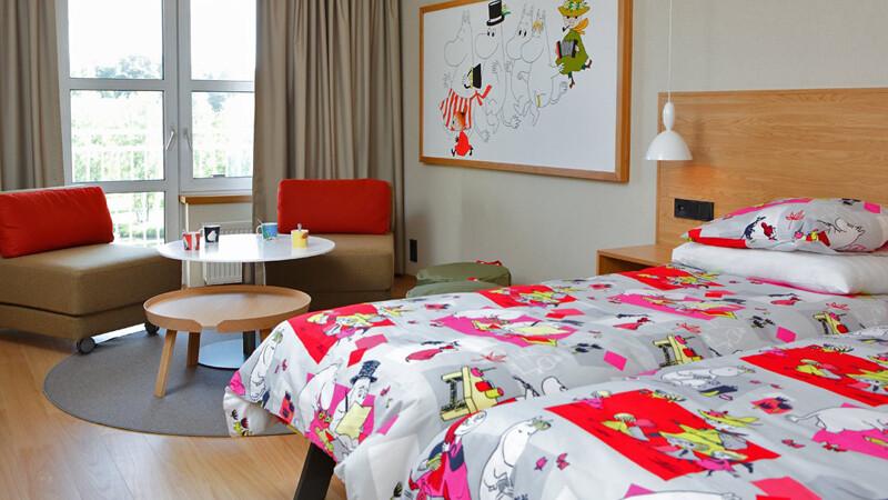 Mumin-Zimmer für Familien im Naantali Spa © Foto: Naantali Spa Hotel