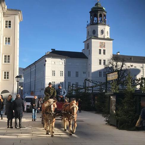 Fiakerfahrt in Salzburg