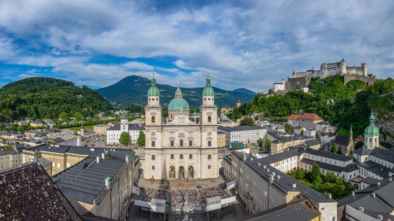 Salzburg Festspile Domplatz