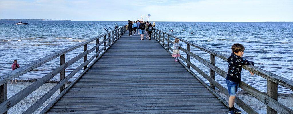 Seebrücke Scharbeutz © Foto: Thomas Weiß