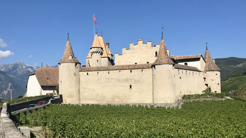 Ansicht, Schloss-Aigle Foto: Andrea Fischer
