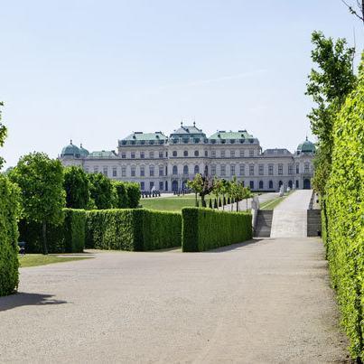 Schloss-Belvedere ©Wien Tourismus Christian Stemper