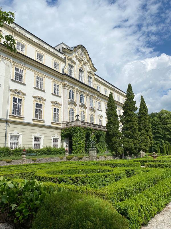 Schloss Leopoldskron Salzburg - Ansicht vorne
