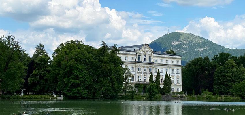 Schloss Leopoldskron Salzburg - Aussenansicht