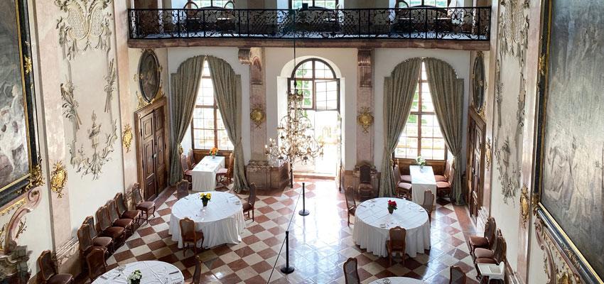 Schloss Leopoldskron Salzburg - Marmorsaal
