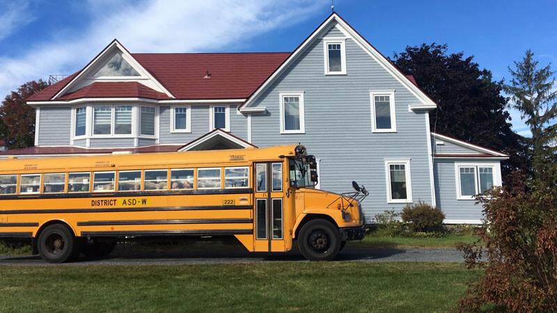 Schulbus New Brunswick