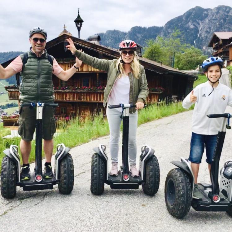 Segway-Tour durch Alpbach © Foto: Andrea Fischer