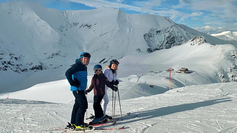 Skifahren am Hintertuxer Gletscherr © Foto: Andrea Fischer