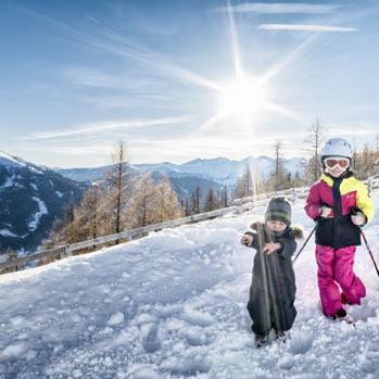 Skiszwerge im Salzburger Lungau