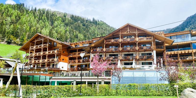 Familienhotel Sonnwies, Ansicht Foto: © Andrea Fischer, Trips4Kids.de