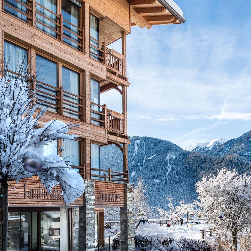 Sonnwies-Winter @ Foto: Familienhotel Sonnwies Südtirol