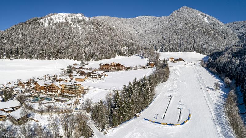 Sonnwies-Winterpanoramas @ Foto: Familienhotel Sonnwies Südtirol