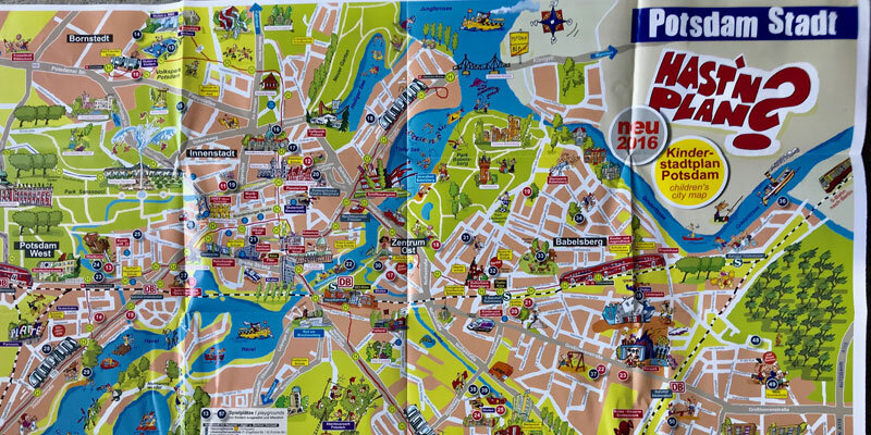 Kinder-Stadtplan Potsdam