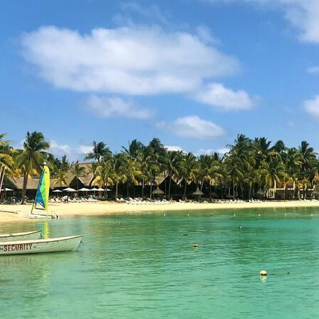 Strandansicht-Shandrani-Beachcomber Foto: Andrea Fischer