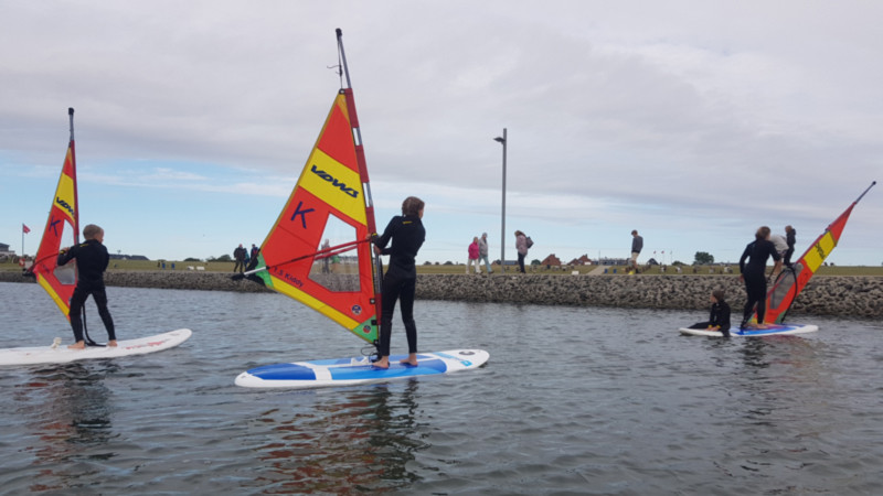 Surfkurs Nordsee @ Foto: Nadine Sorgenfrei