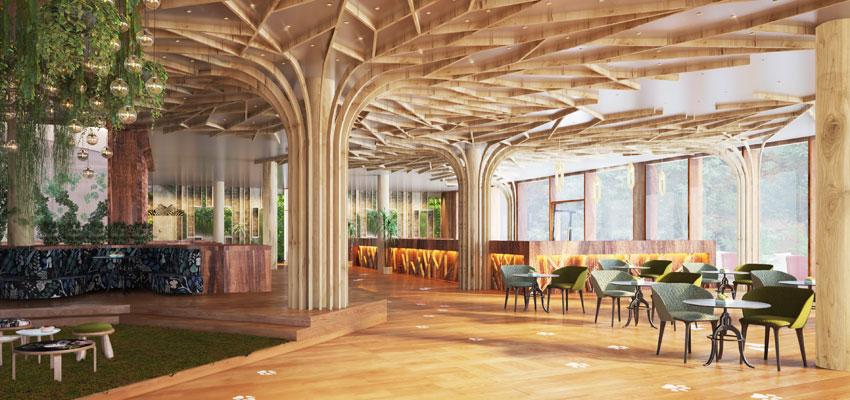 The Grand Green Familux Resort - Restaurant