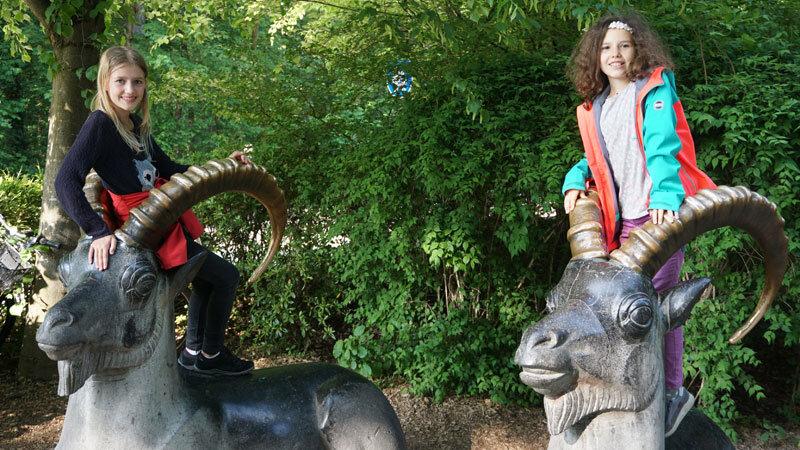 Tierpark Hellabrunn Kids auf Steinbock