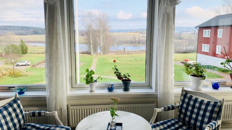 Ulvsby Herrgård,Ausblick Foto: @Andrea Fischer