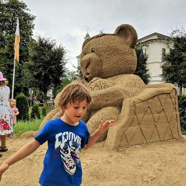 Usedom Sandskulpturenfestival © Foto: Thomas Weiß