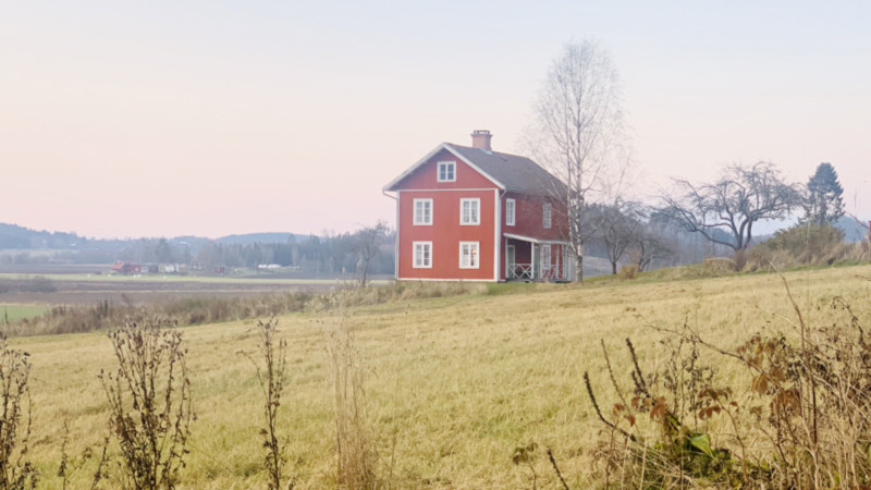 Vaermland-Landschaft-Schwedenhaus Foto: @Andrea Fischer