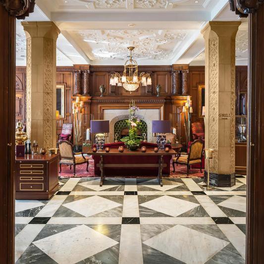 Vier Jahreszeiten Hotel Hamburg - Wohnhalle