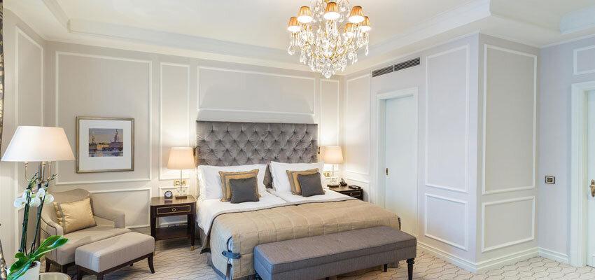 Hotel Vier Jahreszeiten Hamburg - Zimmer Grey