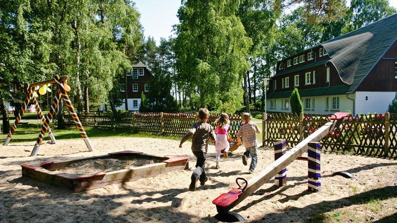 Spielplatz Kinderresort Usedom ehemals Waldhof