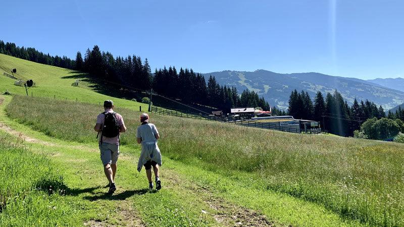 Wanderung-zur-SonnAlm, Saalbach-Hinterglemm @ Foto: Andrea Fischer
