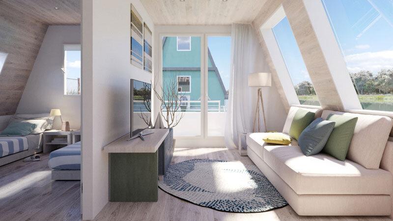 Wohnbereich im Marina Azzurra Resort